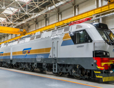 Alstom Commissions First Seven Prima T8 Freight Locomotives in Azerbaijan