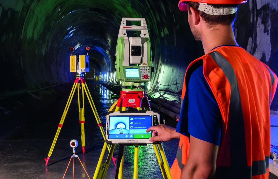 Amberg Navigator Tunnel Software