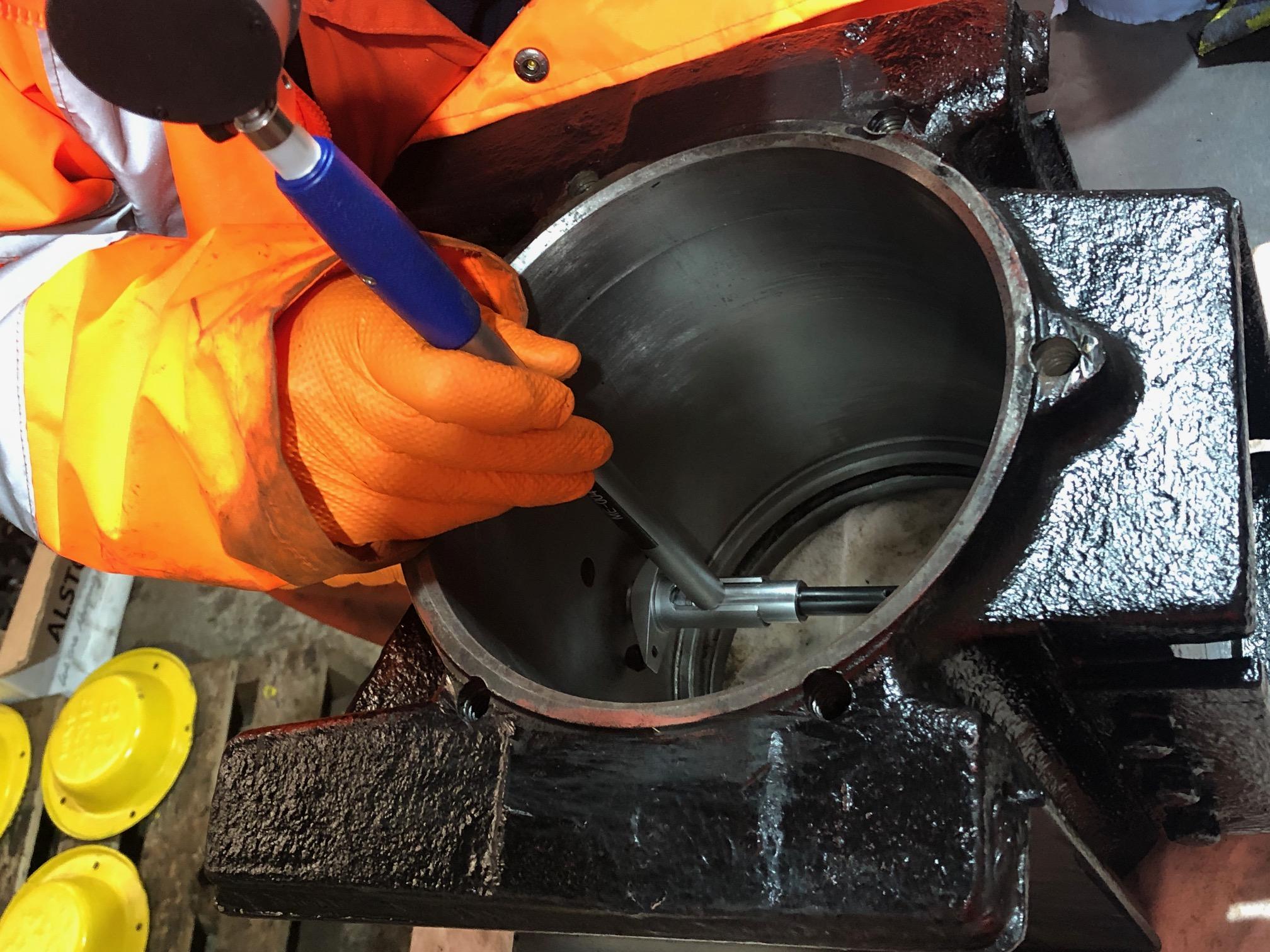 Axlebox Inspection and Overhaul