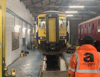 Assenta Rail Class 156 Fleet Corrosion Repairs 3