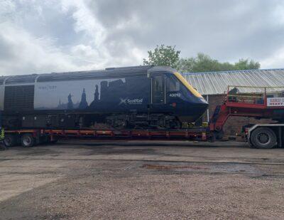 Assenta Rail Class 43 and HST Derailment Repairs 3