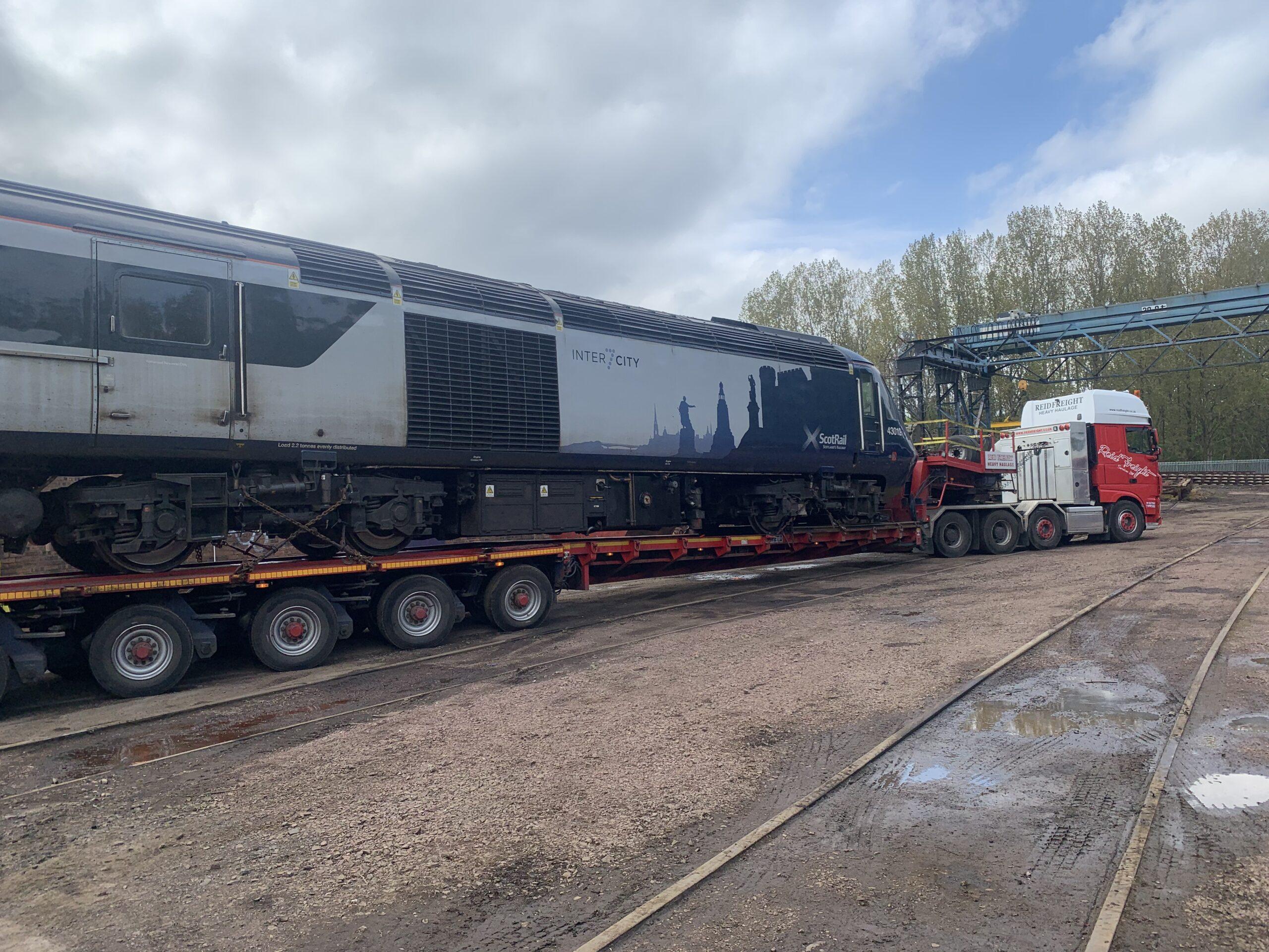 Class 43 and HST Derailment Repairs