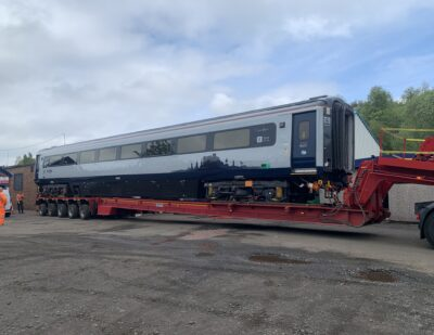 Assenta Rail Class 43 and HST Derailment Repairs