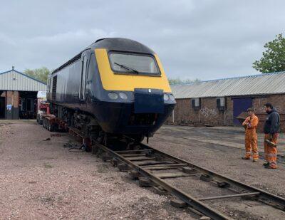 Assenta Rail Class 43 and HST Derailment Repairs 5