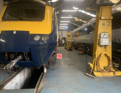 Assenta Rail Class 43 and HST Derailment Repairs 6