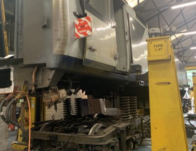 Assenta Rail Class 43 and HST Derailment Repairs 7