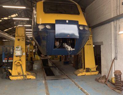 Assenta Rail Class 43 and HST Derailment Repairs 8