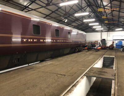 Assenta Rail Full Repaint of a Fleet of Mk1. & Mk.3 Coaches