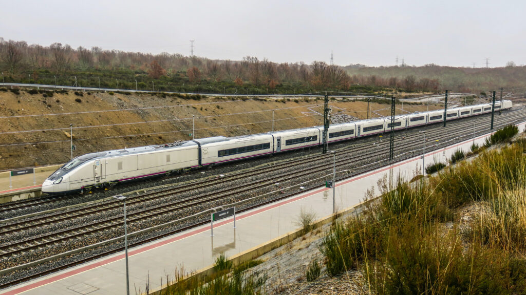 Talgo Avril very high-speed train