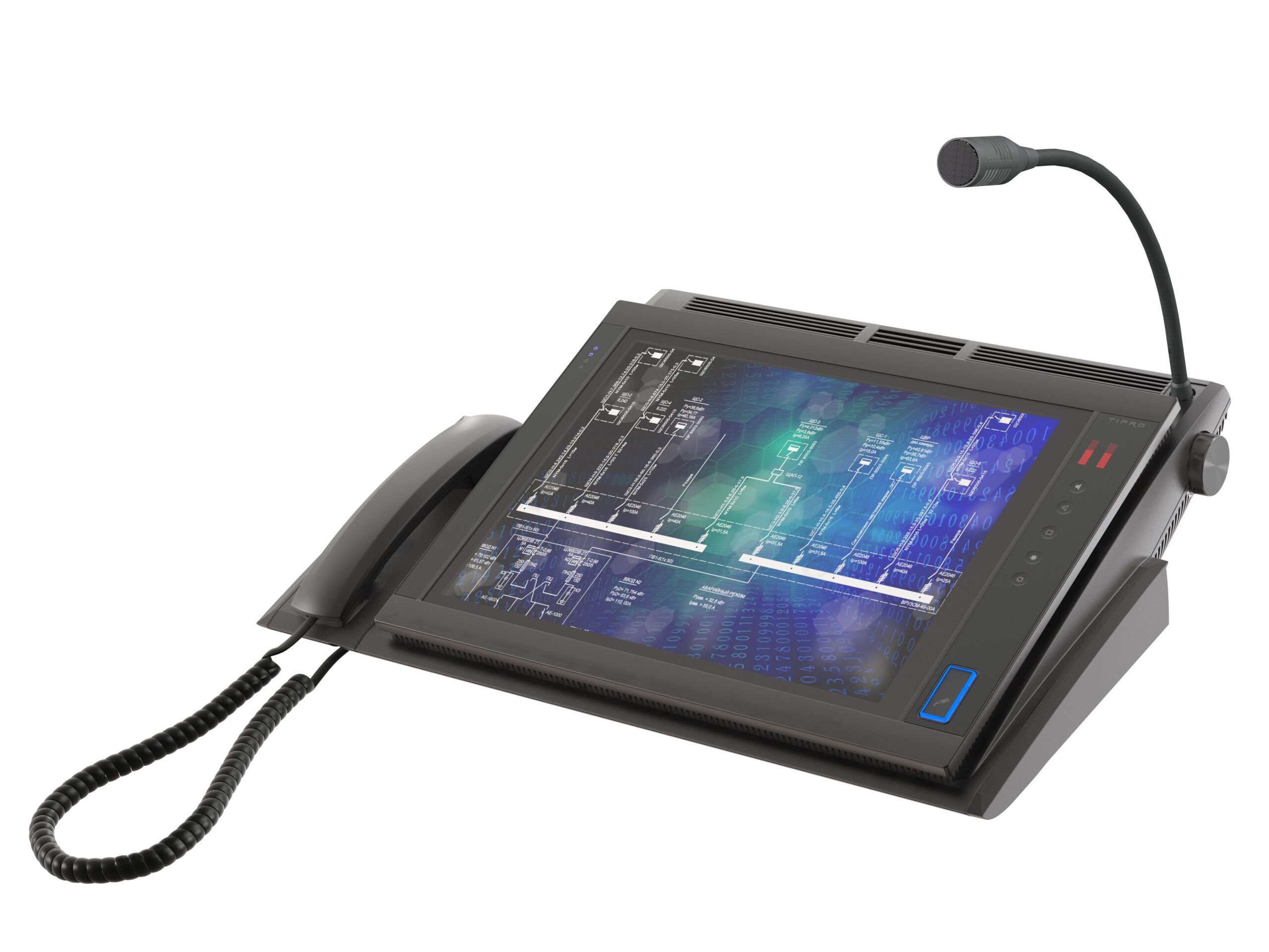 15.0'' Touchcomputer with Integrated InterCom