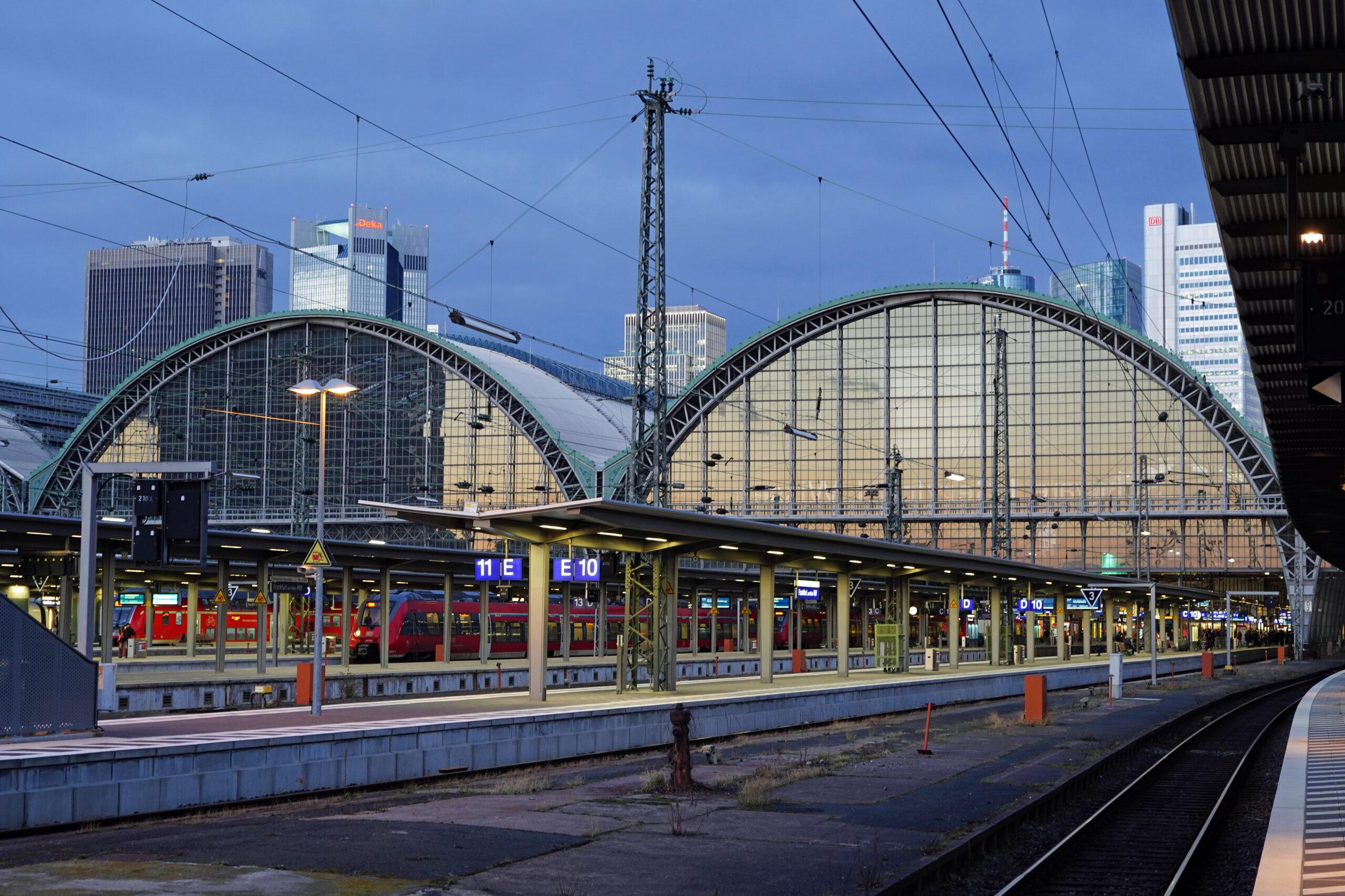 Frankfurt (Main) Hbf – Central Station