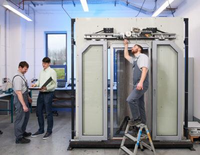 Dowaldwerke_Door- test _lab