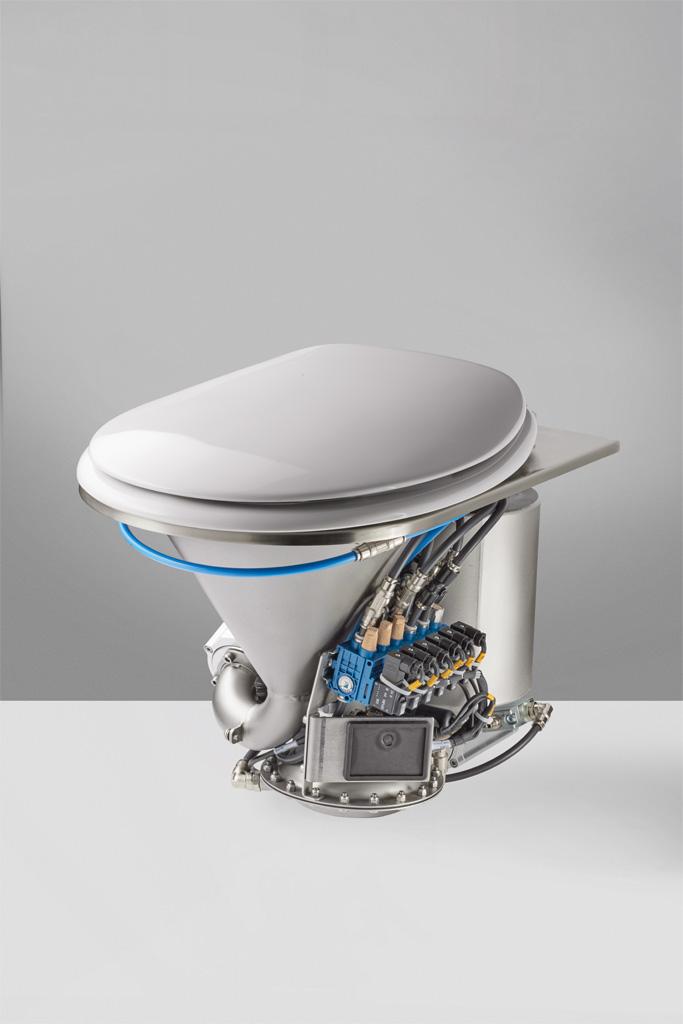 Vacuum Toilet Module