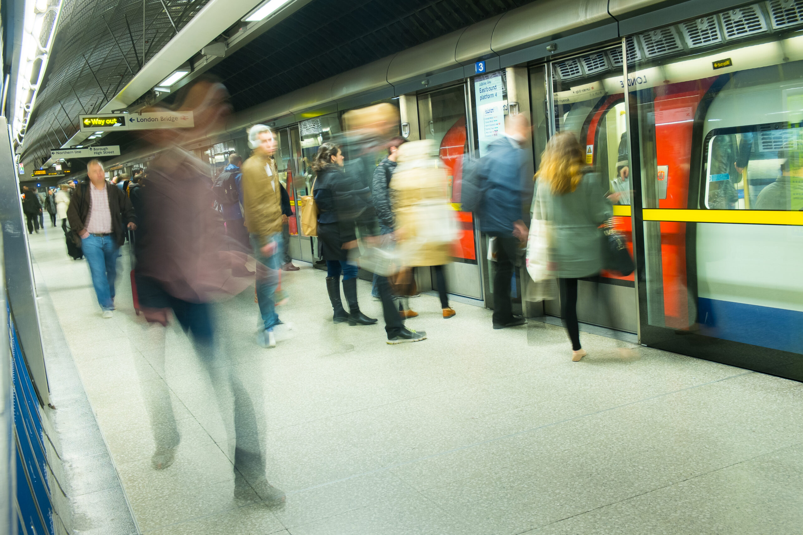 Boarding and exit are one of the most critical processes in railway safety