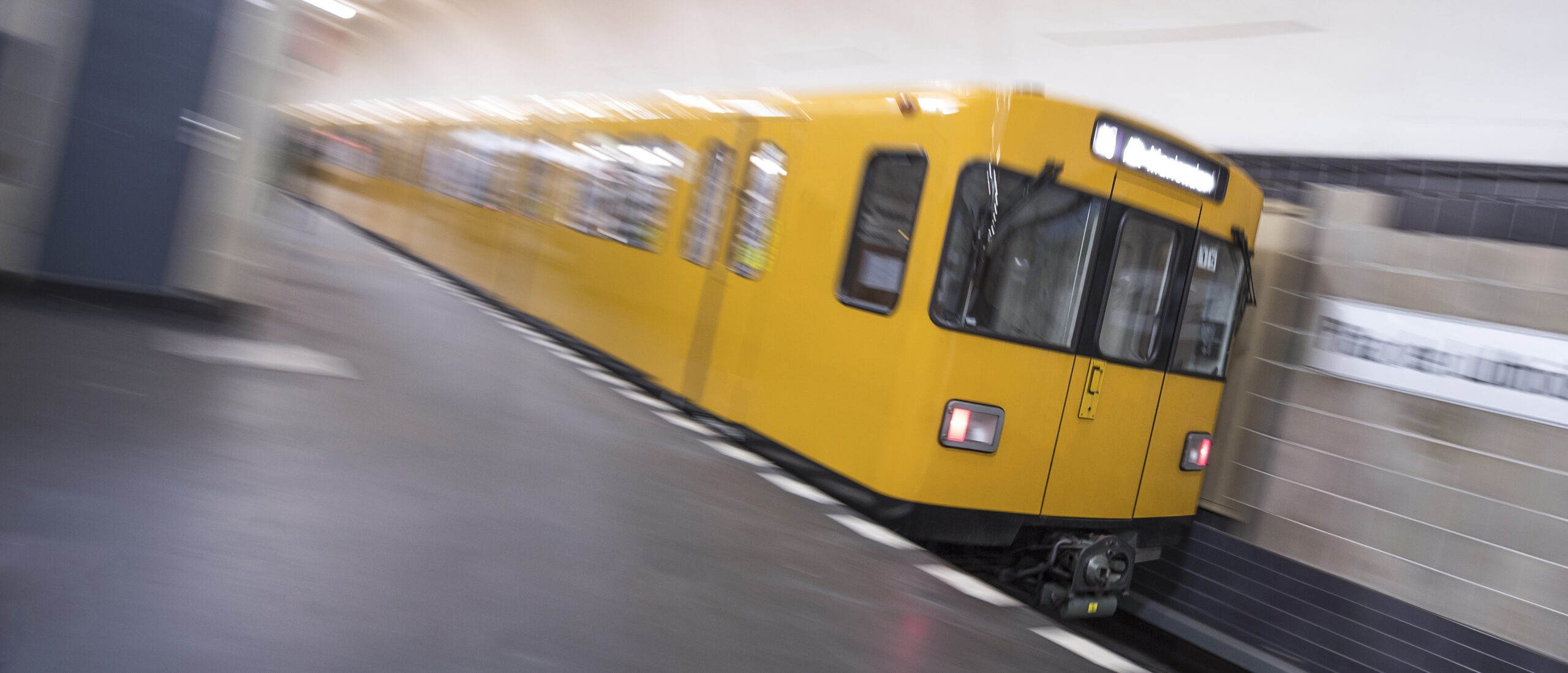 RAILEYE® products will work perfectly on a subway train