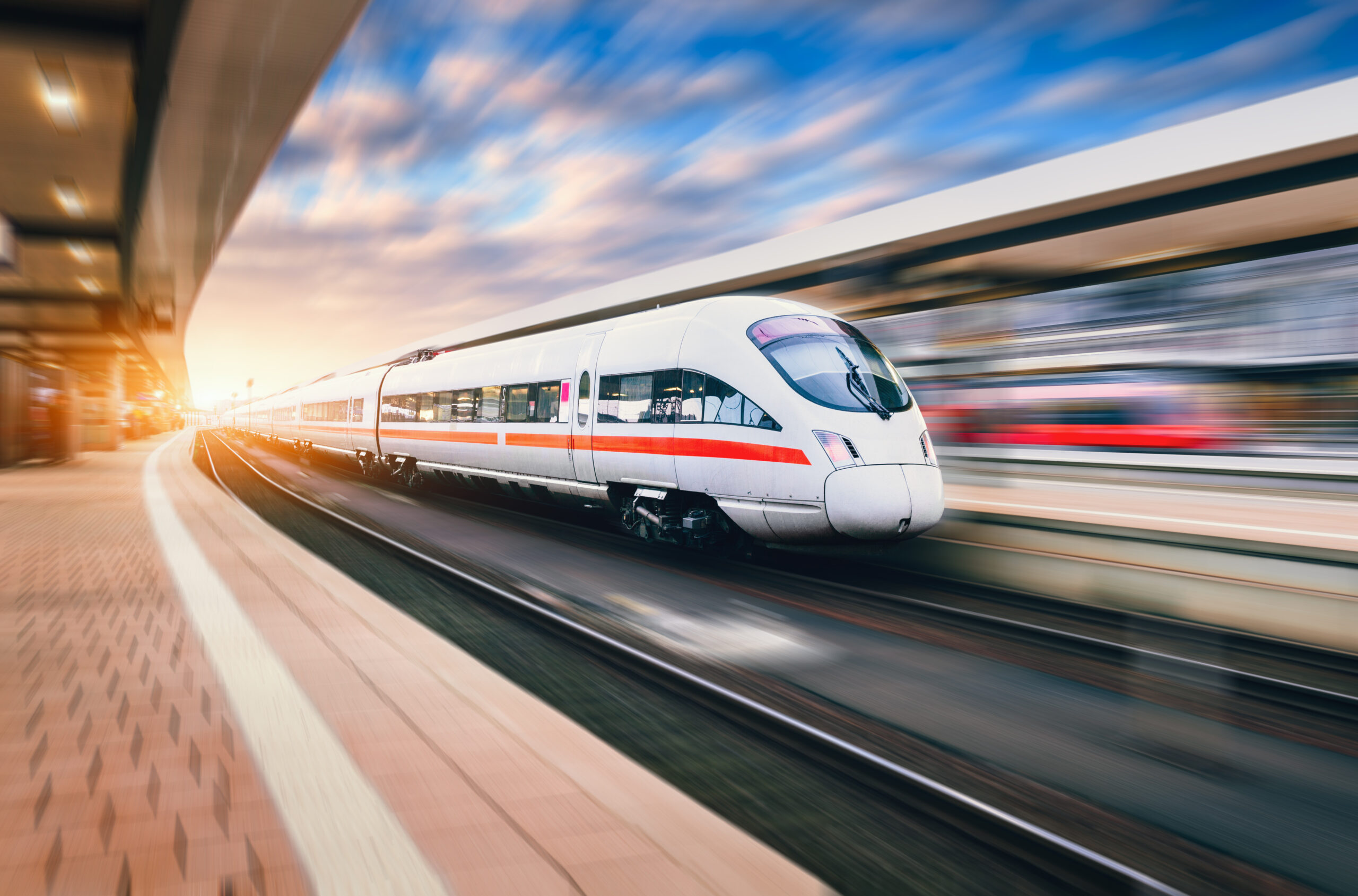 Fast trains have tight timetables. With RAILEYE®4.0 wait at the stations is kept low but safe