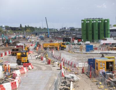 HS2 Starts Permanent Works on Old Oak Common Station