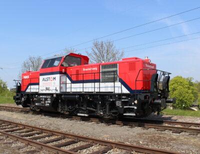 Alstom to Provide and Maintain Shunting Locomotives for SWEG