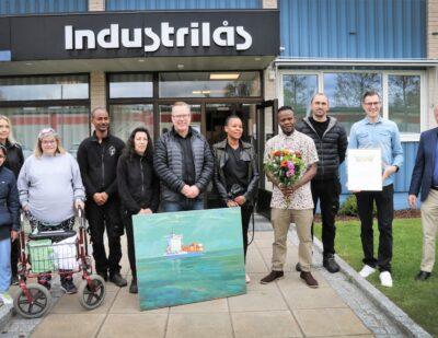 Industrilas Receives Diversity Award