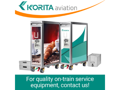 For On-Train Service Equipment, Talk to Us!