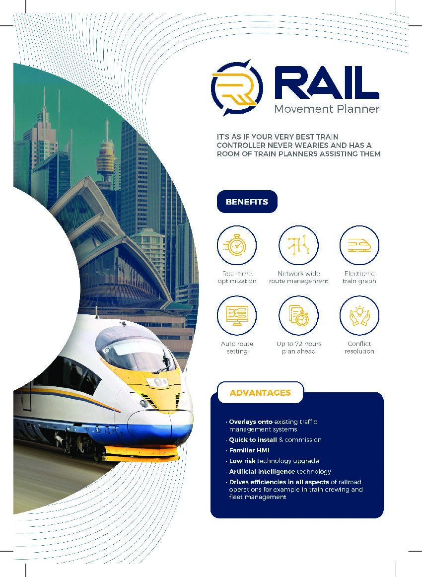 Rail Movement Planner™ – A Real-Time Planning Tool