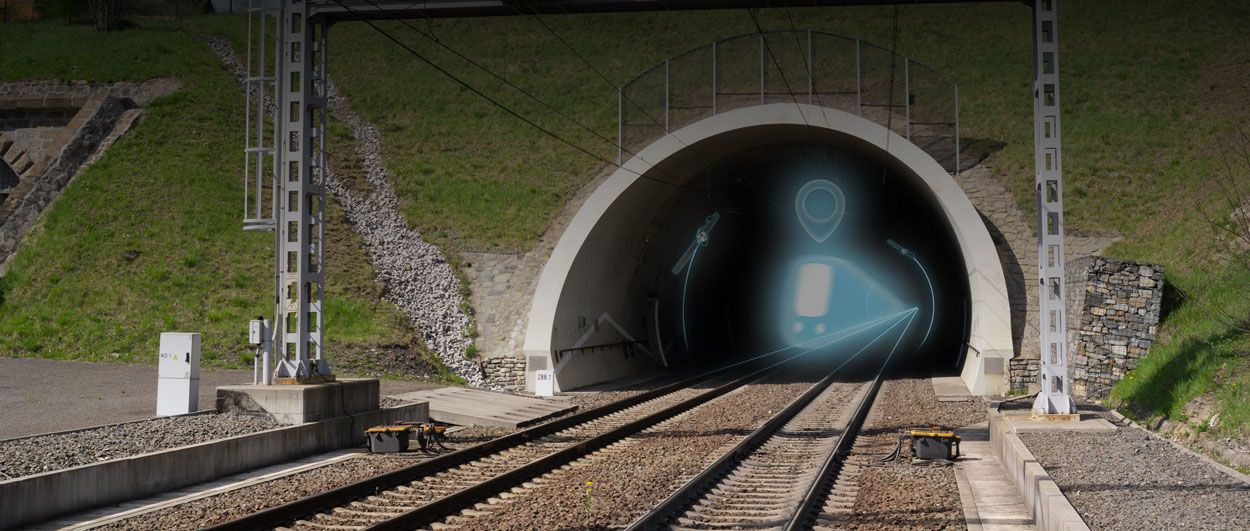 GPS Coverage Extension in tunnels and covered areas enables every GPS-based application used outdoors