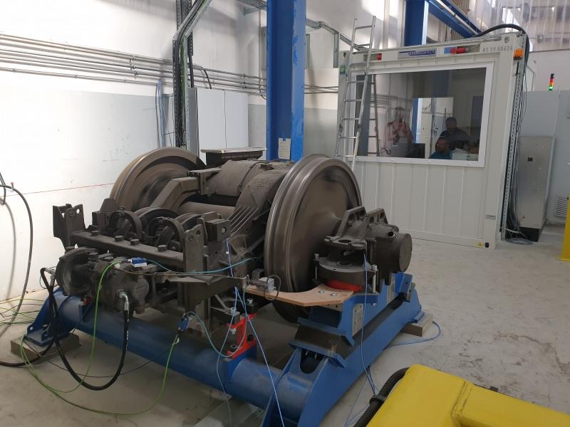 SŽ – VIT Ptuj Workshop Drive Unit Servicing