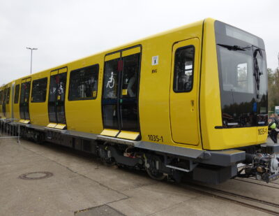 Making Berlin's Metro Cars Lightweight