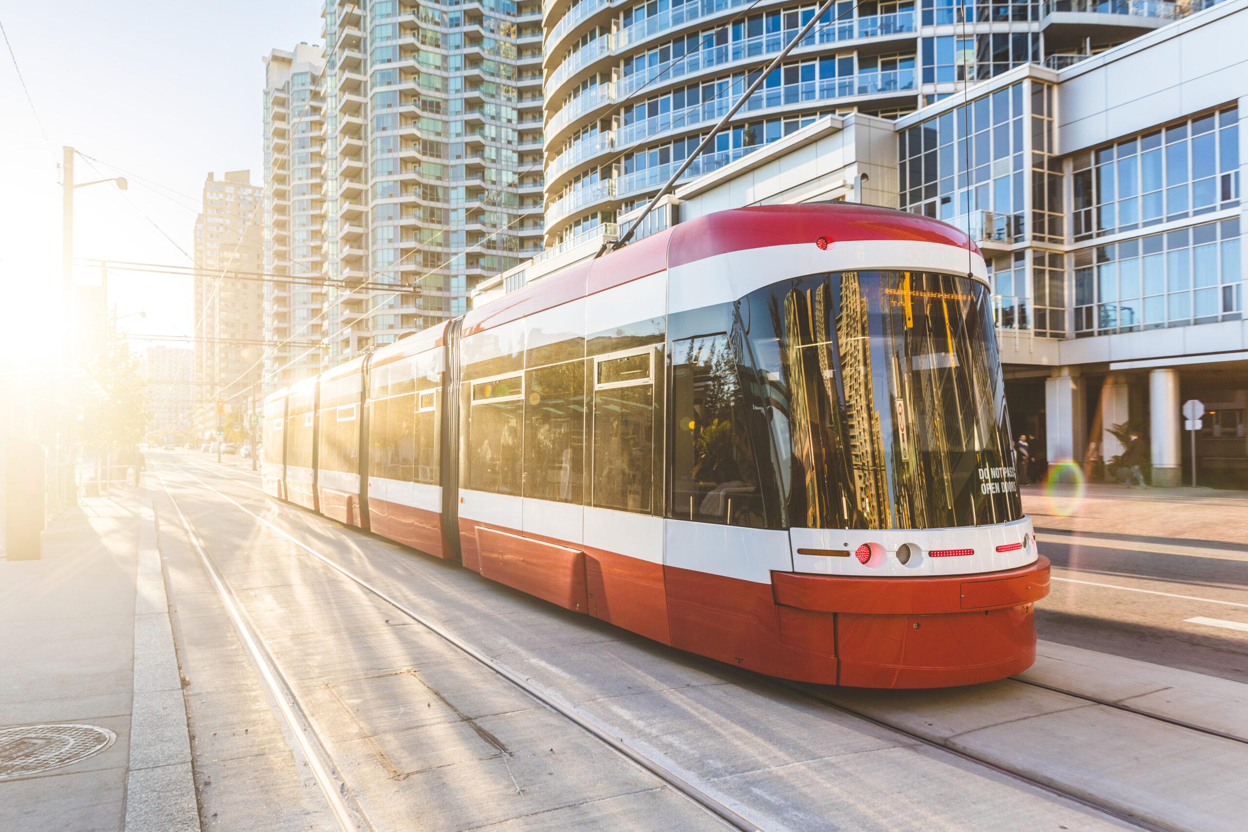 Flexity tram for Toronto