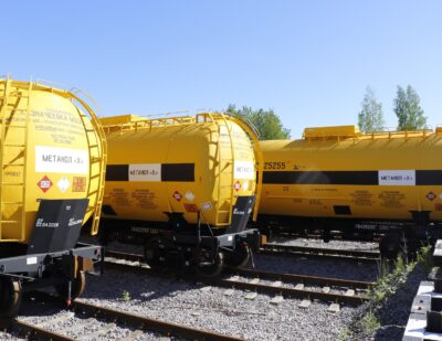 Shchekinoazot Orders 132 Methanol Tank Cars from UWC