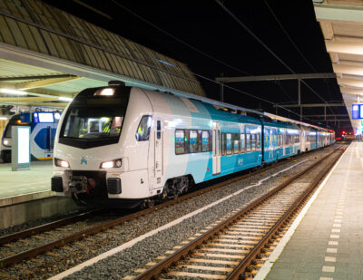 Arriva Submits First Open Access Rail Application in the Netherlands
