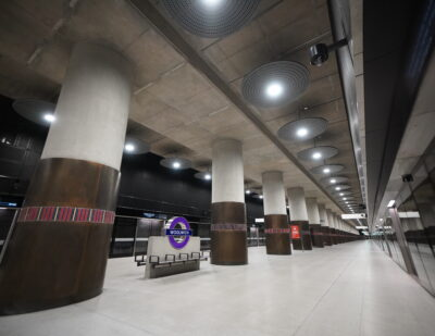 Woolwich Elizabeth Line Station Transfers from Crossrail to TfL