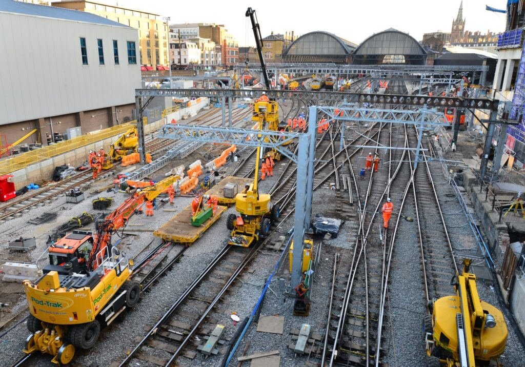 Final weekend of London KIng's Cross upgrades