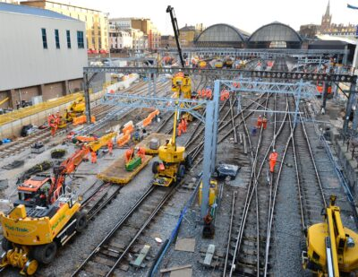 Network Rail Completes Upgrade Work at London King's Cross