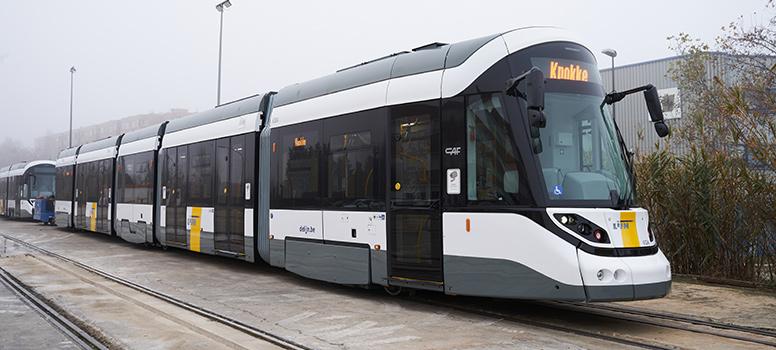 CAF Group De Lijn tram