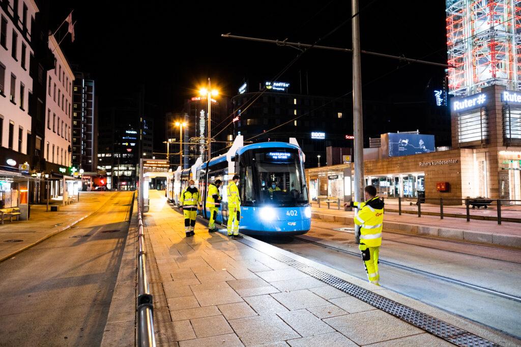 Sporveien CAF Oslo Tram
