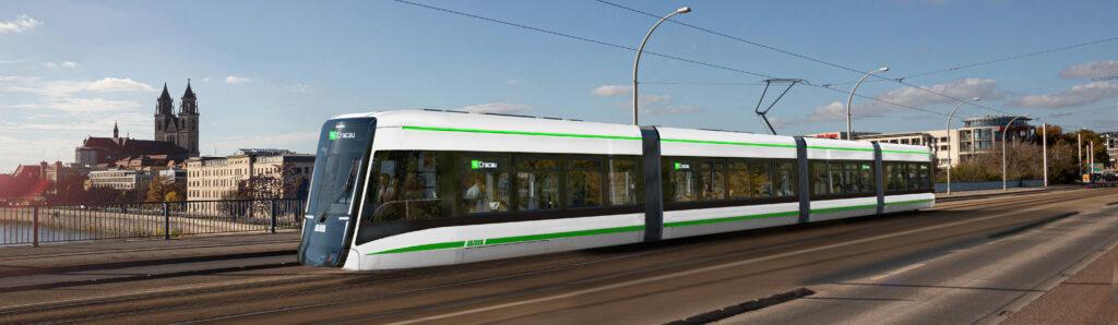 Alstom Flexity tram for Magdeburg