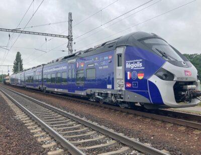 Alstom's Régiolis Crossborder Train Arrives at Czech Test Circuit