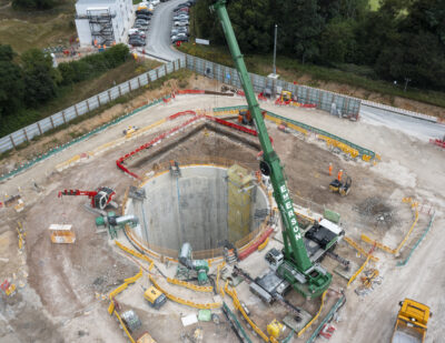 Excavation for First of Five HS2 Chiltern Tunnel Vent Shafts Begins