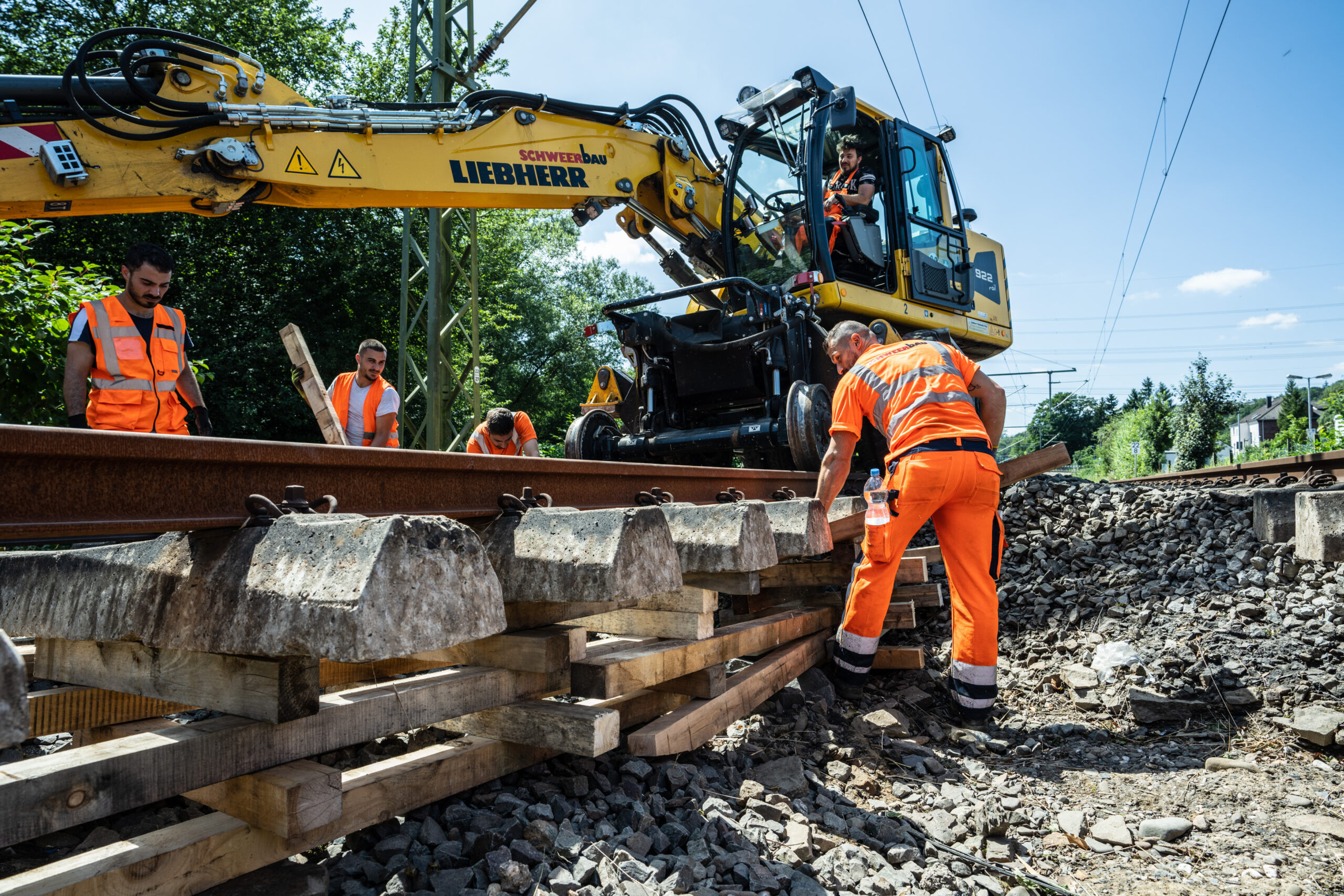 'Damage of historic proportions' - Germany's rail network following the 2021 floods