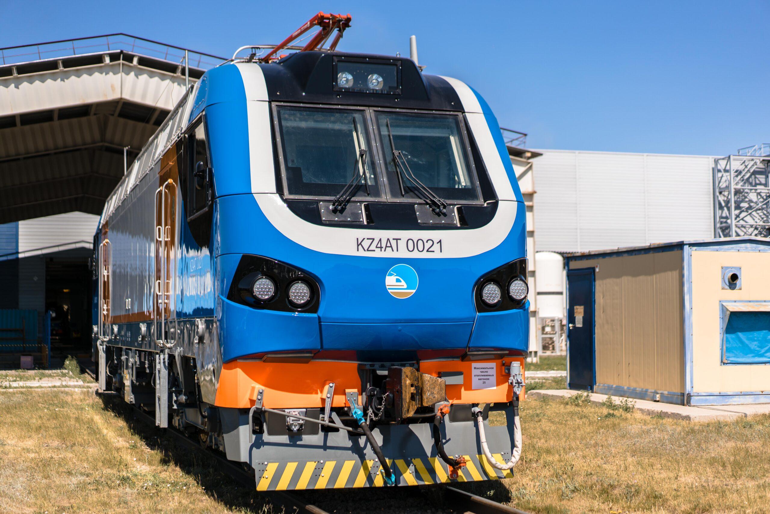 First Alstom Prima electric passenger locomotive fully assembled in Kazakhstan