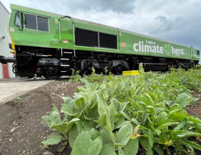 UK First: Freight Locomotive to Be Fuelled by Used Vegetable Oil