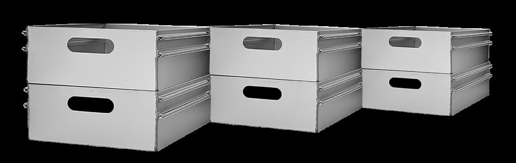 Aluminium Catering Drawers