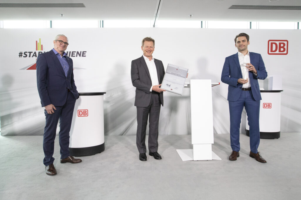 LiveEO Deutsche Bahn award