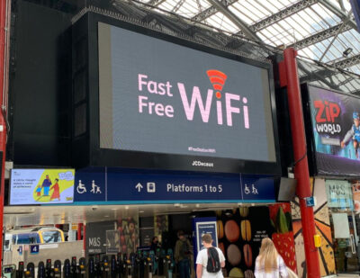 Unlimited Free WiFi Now Available to Passengers at Liverpool Lime Street Station