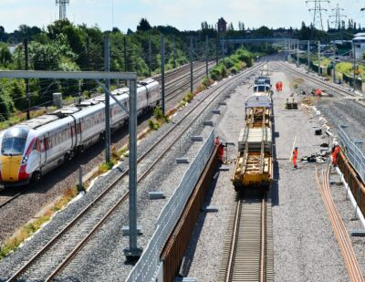 East Coast Upgrade: NR Prepares to Connect 11,000t Tunnel to Existing Track