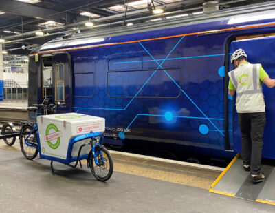 Passenger Trains Repurposed to Deliver Parcels into City Centres