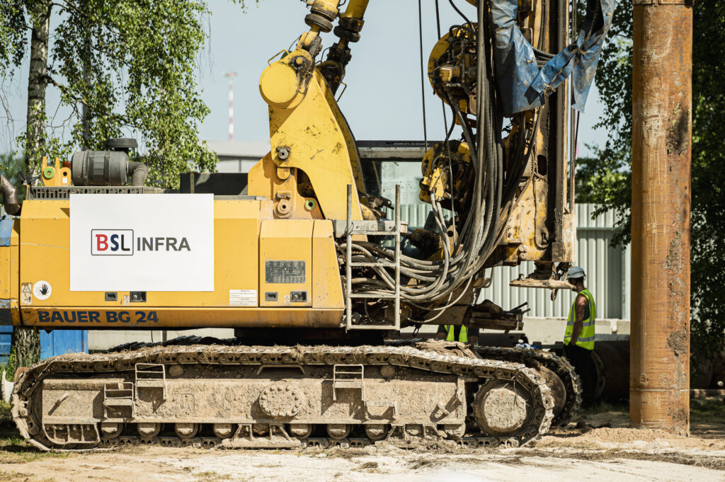 Rail Baltica RIX station construction site opening