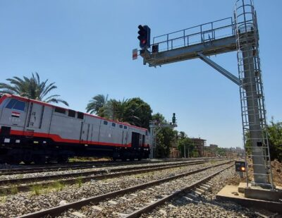 Alstom Commissions 9th Section of Egypt's Beni Suef-Asyut Line