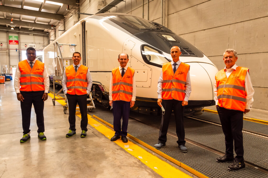 Repsol and Talgo to Jointly Develop Renewable Hydrogen-Powered Train
